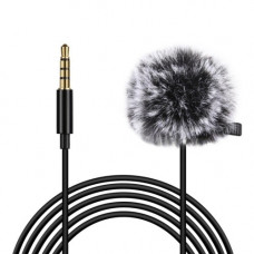 Микрофон петличка Puluz PU3045 3м (3.5mm)