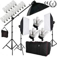 Набор постоянного студийного света для блога на 5 ламп FST PHOTO 0025 MAX