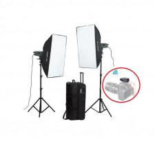 Набор студийного света Visico VE-300 Plus Softbox KIT