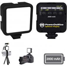Ультра светодиодный видео свет PowerDeWise Led 49 2000mah с Type-c