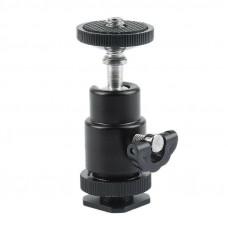 Головка на камеру AccPro TM-13 Hotshoe Ball Head