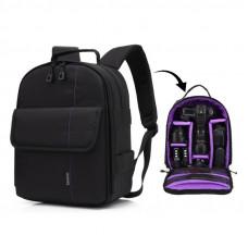 Рюкзак Huwang DAC-3461P black/purple