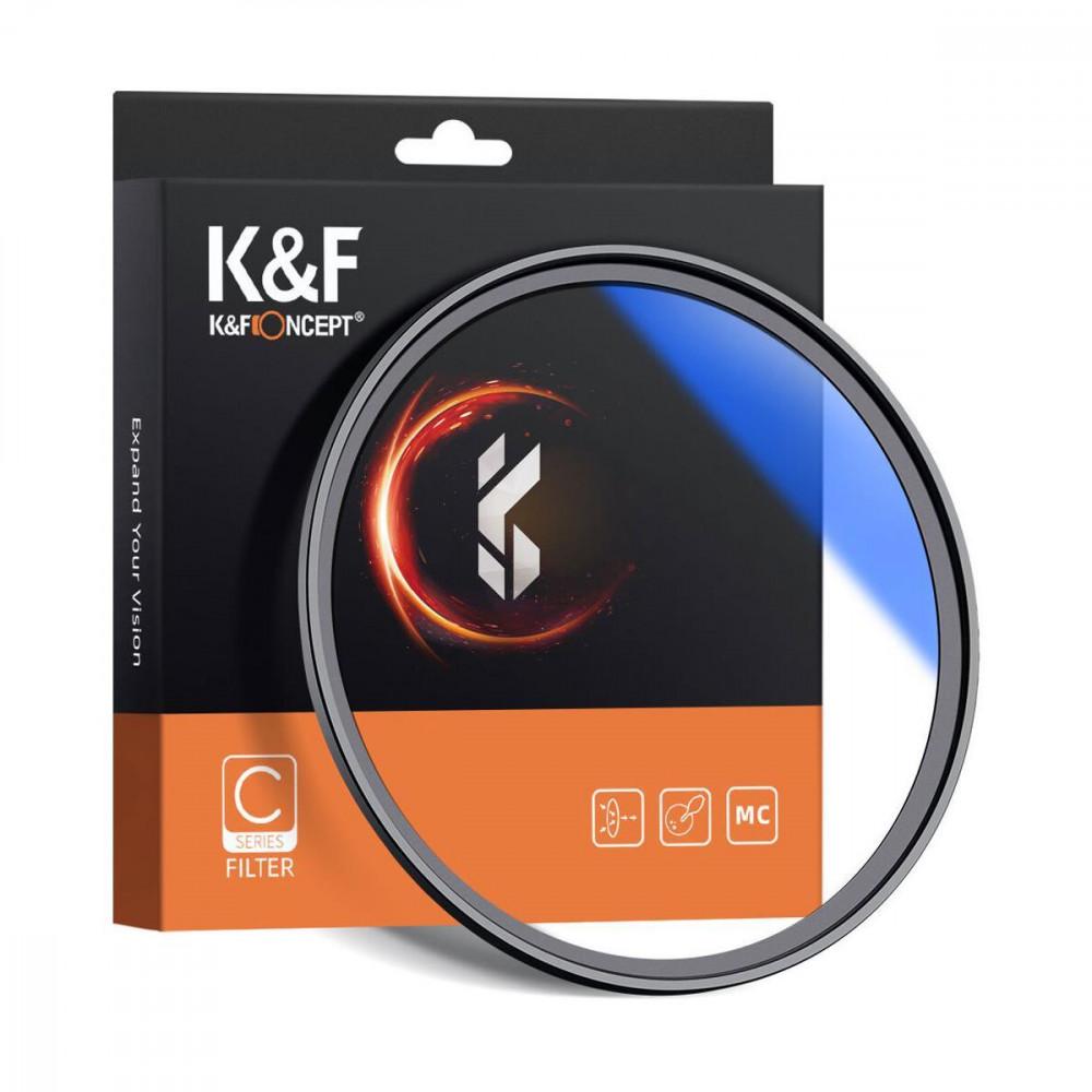 Светофильтр K&F Concept 67mm HMC UV Blue-Coated Japan Optics