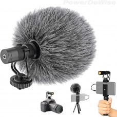 Видеомикрофон PowerDeWise - однонаправленный встроенный микрофон