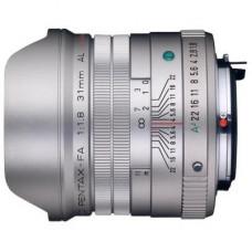 Объектив Pentax SMC FA 31mm f/1.8 AL Limited Silver