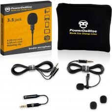 Петличный микрофон PowerDeWise Lavalier Microphone
