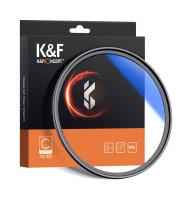 Светофильтр K&F Concept 77mm HMC UV Blue-Coated Japan Optics