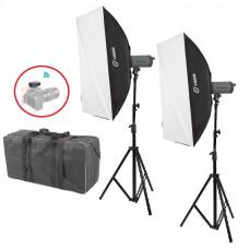 Набор постоянного света Visico LED-150T Softbox Kit