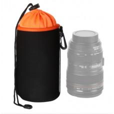 Чехол для объектива AccPro CA-1791E-L black/orange