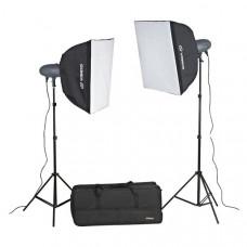 Оборудование для фотостудии (Комплект студийного света) VL-300 Plus Kit (3 шт.)