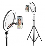 Набор блогера (кольцевая лампа) EL-626 диаметр 26 см со стойкой 2 м