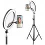 Набор блогера (кольцевая лампа) EL-626 диаметр 26 см