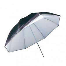 Зонт двойной Mircopro черно-белый/полупрозрачный UB-007 100см