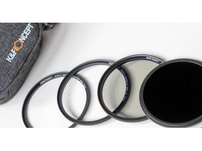 Магнитные светофильтры K&F Concept - Обзор