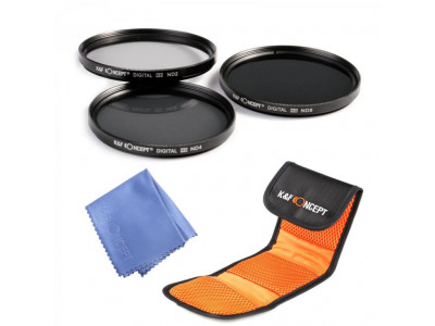 Обзор: K&F Concept ND Filters