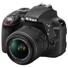 Фотокамера зеркальная Nikon D3300 + 18-140mm black