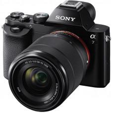 Фотокамера зеркальная Sony Alpha 7 + объектив 28-70 KIT black