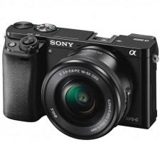 Фотокамера зеркальная Sony Alpha 6000 kit 16-50mm Black
