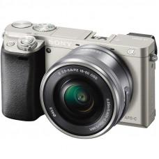 Фотокамера зеркальная Sony Alpha 6000 kit 16-50mm Silver