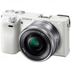 Фотокамера зеркальная Sony Alpha 6000 kit 16-50mm White