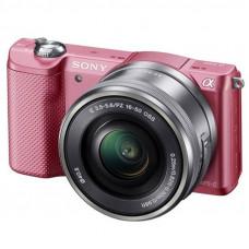 Фотокамера зеркальная Sony Alpha 5000 kit 16-50 Pink