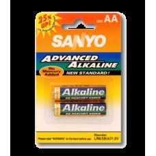 """Батарейки Sanyo LR6/2B """"АА"""" x 2шт. 1.2 B"""