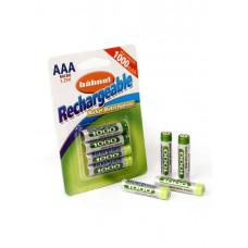 HAHNEL Аккумулятор AAA 1000mAh B4