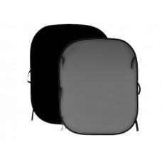 Фон двухсторонний складной Lastolite Black/Mid Grey 1,5x1,8m (56GB)