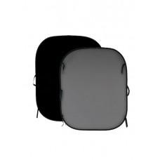 Фон двухсторонний складной Lastolite Black/Mid Grey 1,8x2,15m (67GB)