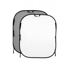 Фон двухсторонний складной Lastolite White/Mid Grey 1,5x1,8m (56GW)