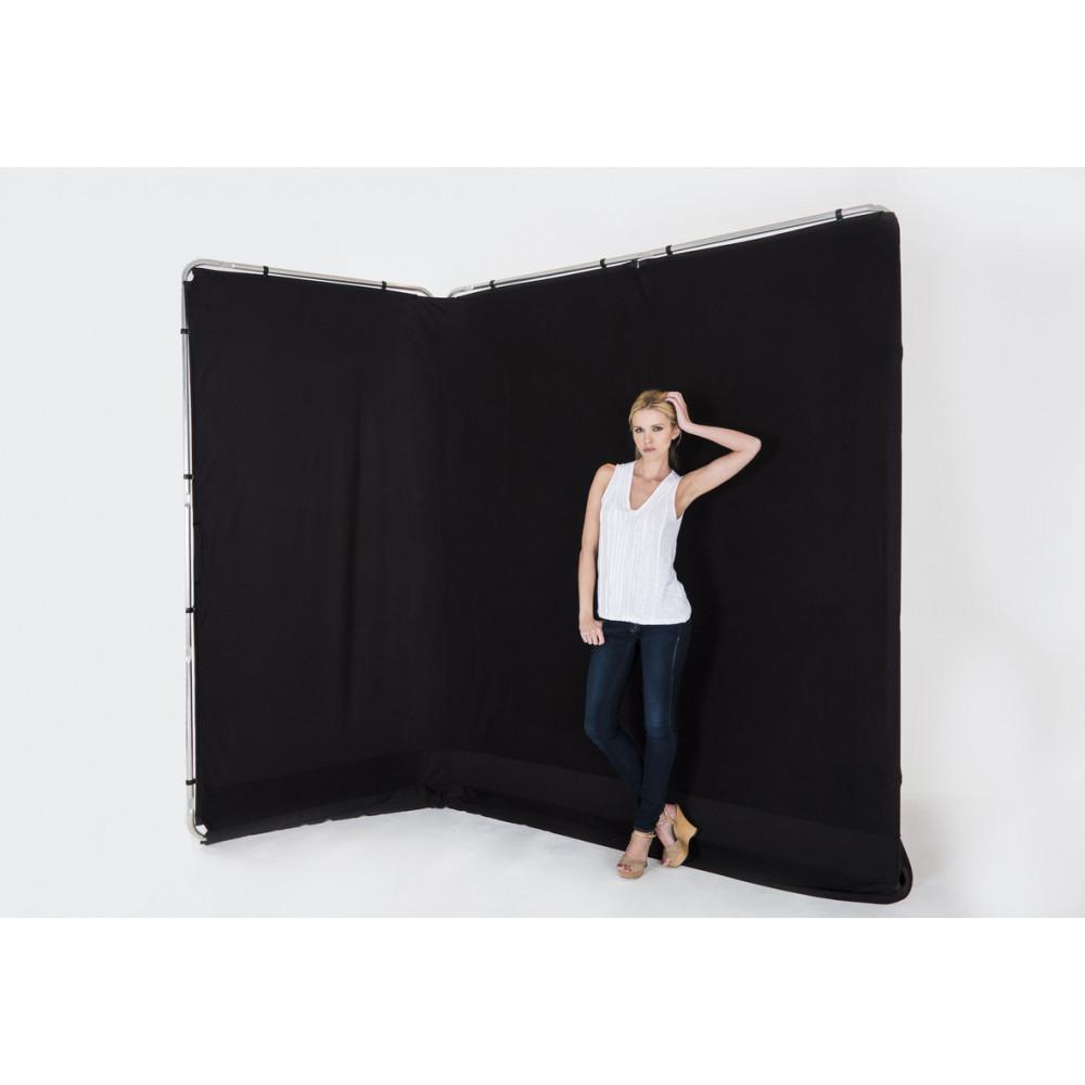 LASTOLITE Фон панорамый складной Panoramic 4m Black (7621)