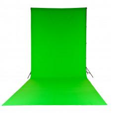 Фон тканевый LASTOLITE LL LC5881 Chromakey Хромакей Curtain 3x7m Green
