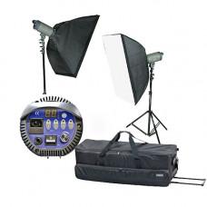 Набор студийный ARS-500/VC (ARS-500-2, софт 80х100-2, стойка 68-212см, сумка)