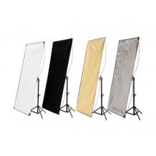 Hyundae Photonics Панель для отражателя  White / Soft Gold, 80x120 см