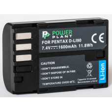 Aккумулятор PowerPlant Pentax D-Li90
