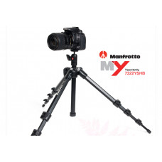 Штатив Manfrotto 7322YSHB M-Y Micro 4-Section Tripod with compact Ball Head