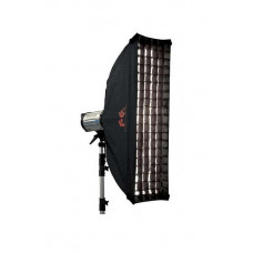 Стрип бокс софтбокс с сотами Falcon SBQ-30160HC 30x160см / SQ с сотовой насадкой