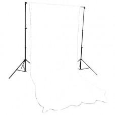 LASTOLITE Фон трикотажный Knite White 3x7m  (7601)